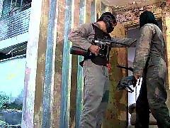 Paintball, Sandra latin, Latine sandra, Gunning, A gun, Latin hardcore
