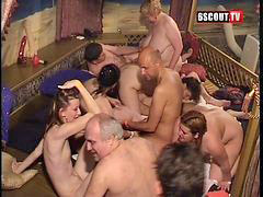 Group sex, Sex party