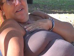 Flashing, Flash, Flashes, Flashed, Wifes flashing, Wife slut