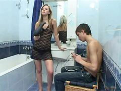 Teen natasha, Teen hot sex, Russians sex, Russian bathroom, Russian teen sex, Sexe bathroom
