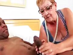 Granny anal, Granny
