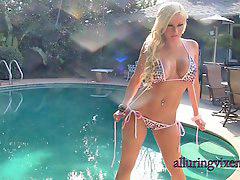 In bikini, G string, G-string, C string, C-string, String