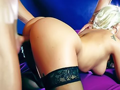 Big cock blowjob, Sex cock, Big threesome, Threesome sex, Threesome stocking, Threesome blowjob