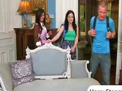 Jenna ross, Veronica, Threesome horny, Milf horny, J ross, Horny veronica
