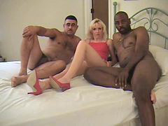 Interracial, Threes, Three somes, Three some n, Three d, Interracial three some
