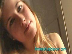 Teen, Czech, Lapdancer, Lapdance, Teen dance 2, Czech teen
