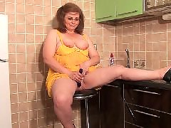 Mature, Kitchen, Bbw