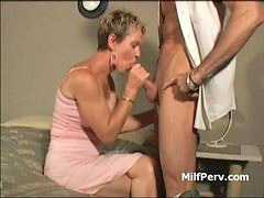 Milf, Big cock, Husband, Big blonde, Blond milf, Hard cock