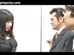 Japanese, Office threesome, Asian office, Threesom office, Japanese threesome, Japan office