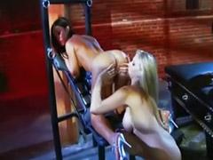 Masturbação lesbians, Lésbica