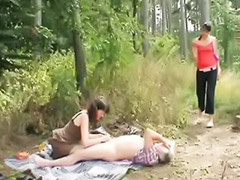 Outdoor mature, Threesome outdoor, Mature amateur, Teen threesom, Couple with teen, Threesome amateur