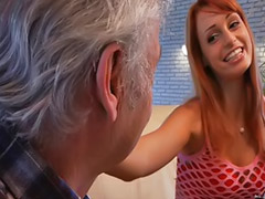 Old young, Grandpa fucks, Blowjob&fucking, Masturbate young, Vagina, Head shaving