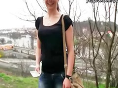 Public blowjob, Iveta, Czech girls, Amateur public, Public fuck, Paid sex