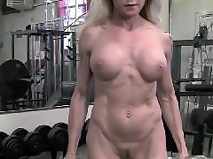 Muscle in, Muscle blonde, Mature muscle, I the gym, Gym blonde, Mature gym
