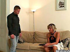 Blackmail, Wife, Hot mom, Mom, Blackmailed