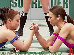 Lesbian, Wrestling, Lesbians, Bikini, Lesbian bikini, Bikinis lesbians