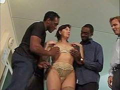 Gangbang, Interracial, Squirt, Mature, Interracial gangbang, Mature gangbang