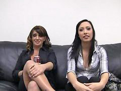 Anal, Casting, Daughter, Mother daughter, Mother, Casting anal