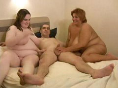 Two in one, Two cocks in, Two bbw, Two one cock, Share cock, One in two