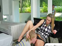 All star, Allie, Son threesome, Porn teen, Nails, Lesson