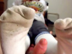 Socks, Footj, Clogs, Socks footjob, Footjobs, X tube