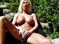 Big tits solo, Shaved solo, Outdoor solo, Big toys big tits, Tits big hot, Pool masturbation