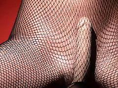 Sex tights, Solo coms, Fishnet dildo, Comming in, Tight toy, Sex,com