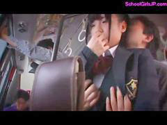 Bus, Forced, Force, Schoolgirl, Forces, Schoolgirl bus