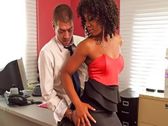 Eboni big ass, Office ass, Interracial office, Interracial big ass, Interracial ass, Ebony interracial