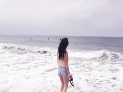 Teen pov, Beach sex, Amature, Pov teen, Pov teen blowjob, Sex beach