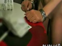 Sex money, Public money, In bar, Bar, Public blowjob, Anal pov