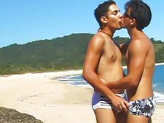 Latino, Beach sex, Gay latin, Latin anal, Latin gay, Bea cummings