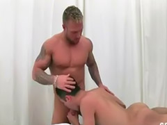 Gay, Kissing, Bareback, Tattoo, Anal bareback, Gay blowjobs