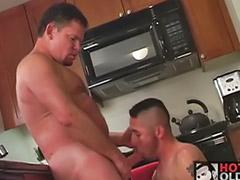 Sexo gay maduros, Casal maduro anal