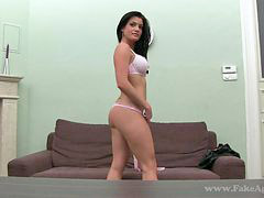 Shaped, Licking hot, Casting hot, Steffany, European, Shapely