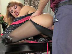Pantyhose, Stockings, Stocking, Vids, Present, Pantyhose secretary