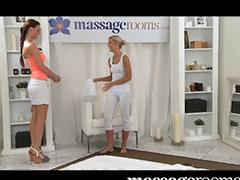 Lesbian massage, Trib, Lesbian trib, Lesbian orgasm