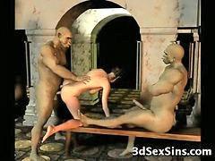 Demonic, Hot babe fuck, Hot babe fucking, Hot babe fucked, Demon, I 3d