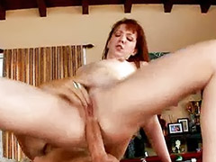 Redhead blowjob, The poole, Table sex, Table fuck, Table anal, Redhead sex