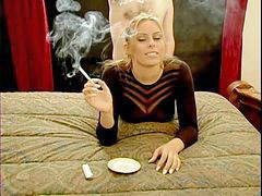 Blond doggy, Smoking blondes, Smoking blonde, Smoke blonde, Doggy smoking, Blonde smoke