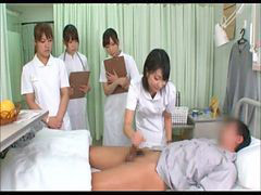 Asian, Nurse, Handjob