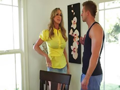 Big vagina, Milf, Big cock, Young, Brandi love