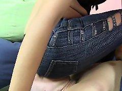 Riding slave, Slave riding, Slave facesitting, Slave face sitting, Jeans sitting, Jeans facesit