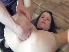 Anal fisting, Ass fisting, Sex first time, Amateur wife, First time anal, Anal milf