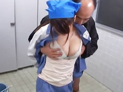Japanese, Public blowjob, Wrong, Cleans wrong, Japanese lady, Japanese blowjob