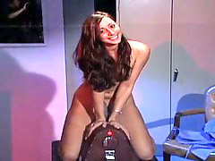 Sybian, Glasses, Controls, Controlled, Glasse, T fuck behind
