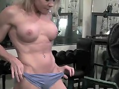 Muscle in, Muscle blonde, Mature gym, Mature muscle, I the gym, Gym blonde