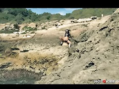 Toy squirt, Outdoor solo, Squirting solo, Masturbation squirt, Masturbation beach, Masturbation outdoor