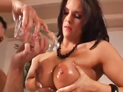 Double penetration, Double anal, Threesome anal, Big ass fuck, Big anal threesome, Blowjob&fucking