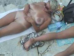 Beach, Mature, Nude